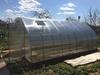 Оцинкованная теплица «КУПОЛ усиленная» в форме купола, с поликарбонатом 4 мм Sellex