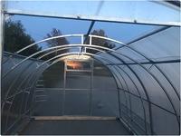 Теплица с открывающимся верхом СЕЗАМ, с поликарбонатом 4 мм Sellex