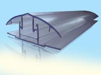 Профиль соединительный разъемный НСР (6-10) комплект. Длина 6м